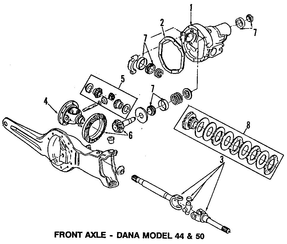 F3tz3219c - Ford Axle Shafts  Shaft