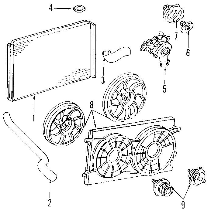 34 2001 Ford Windstar Cooling System Diagram