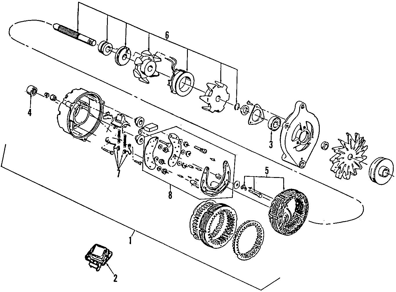 ford alternator parts diagram 4u2z10v346cxrm    ford       alternator    lakeland    ford    online  4u2z10v346cxrm    ford       alternator    lakeland    ford    online