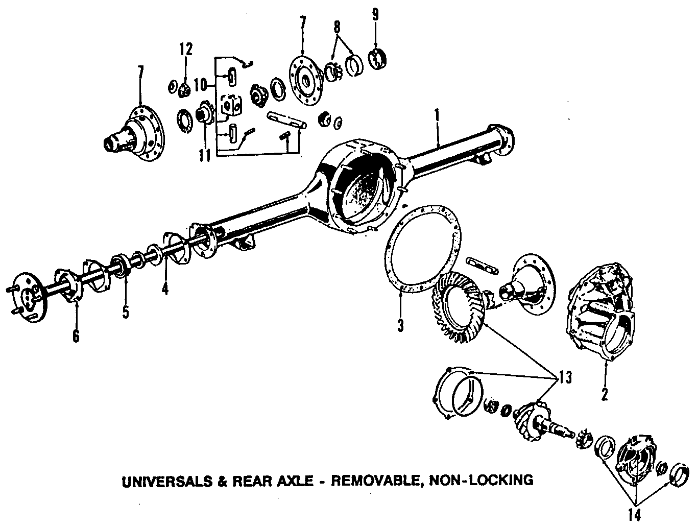 ford crown victoria rear axle parts diagram  ford  auto