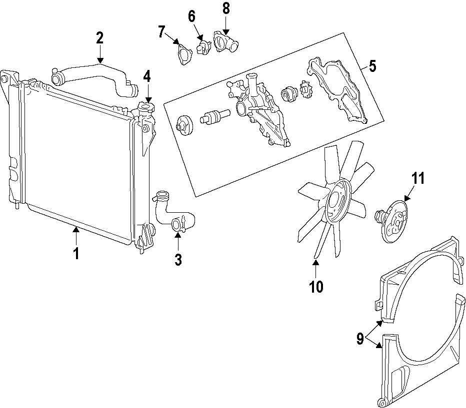 2001 ford ranger gasket  housing gasket  mount bolt seal