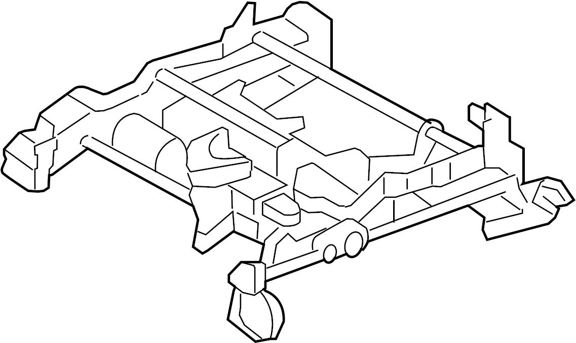 ar3z6361711a - ford track assy  track asy