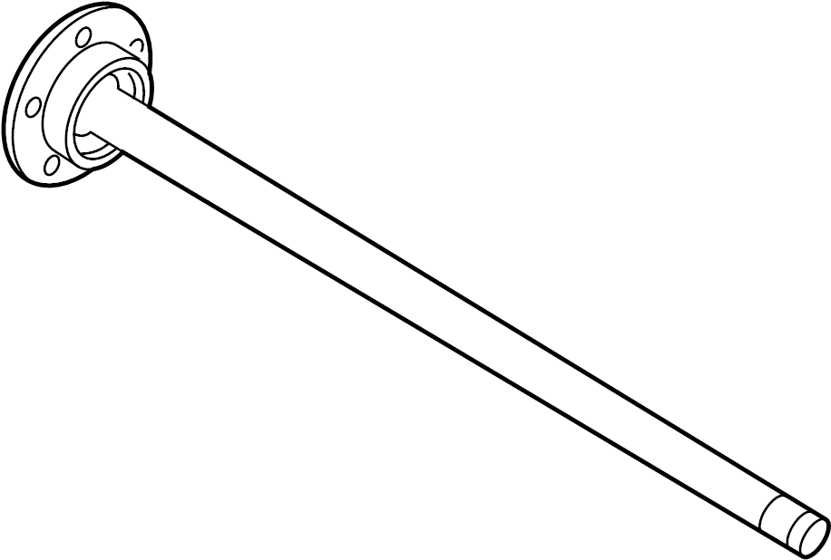 5r3z4234a - ford axle  shaft  assembly