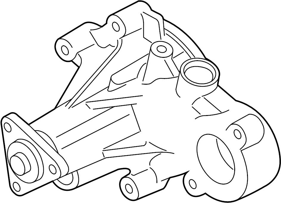 br3z8501p - ford pump assembly