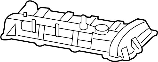 ford focus engine valve cover  states  wcnglpg  cnglpg