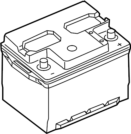 BXL96RA - Ford Vehicle Battery. Amp, BXL, Cable