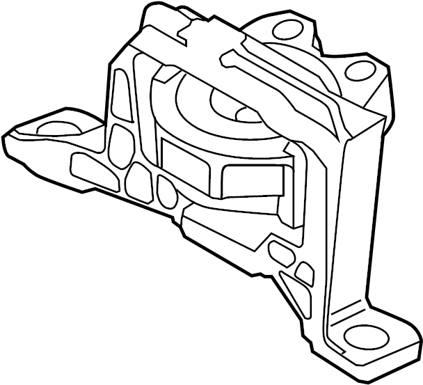 ford focus motor mounts diagram