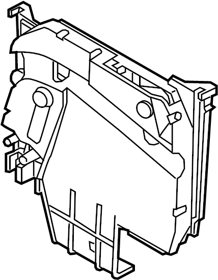av6z14a068a - ford box assembly