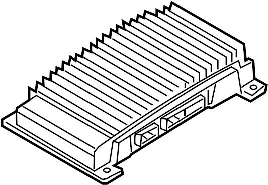 ford escape amplifier  kit