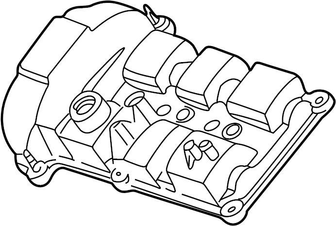 ford escape engine valve cover  3 0 liter  3 0 liter dohc  escape  mariner  left