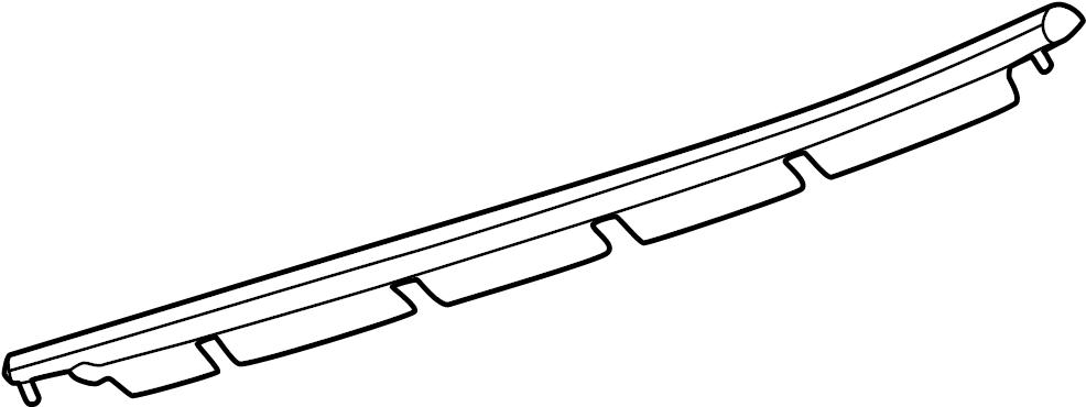 2006 ford taurus belt  weatherstrip  door  w u0026 39 strip  glass