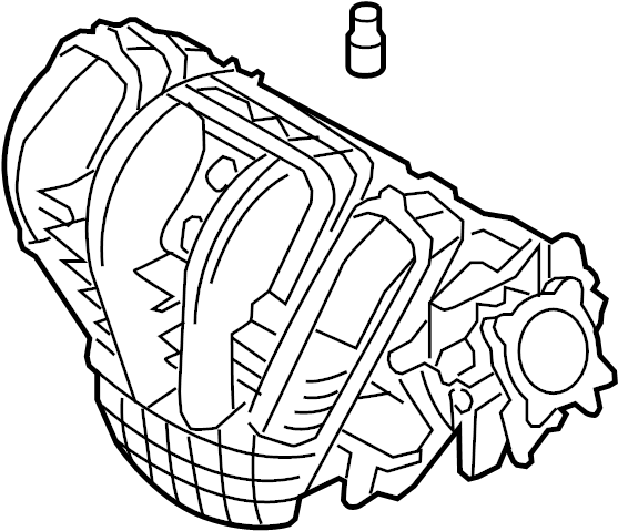Ford Fusion Engine Intake Manifold  Liter  Hybrid