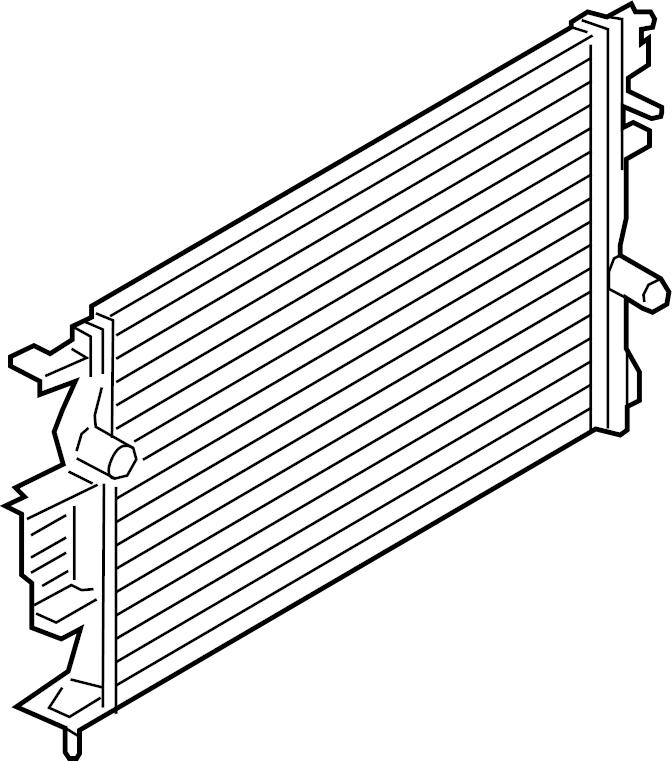 Ford Fusion Radiator Assembly Dg9z8005b Lakeland Ford