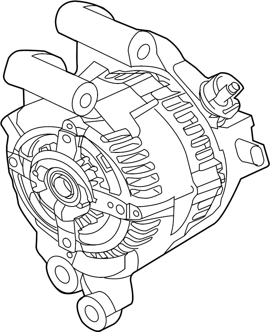 ford fusion alternator  asy