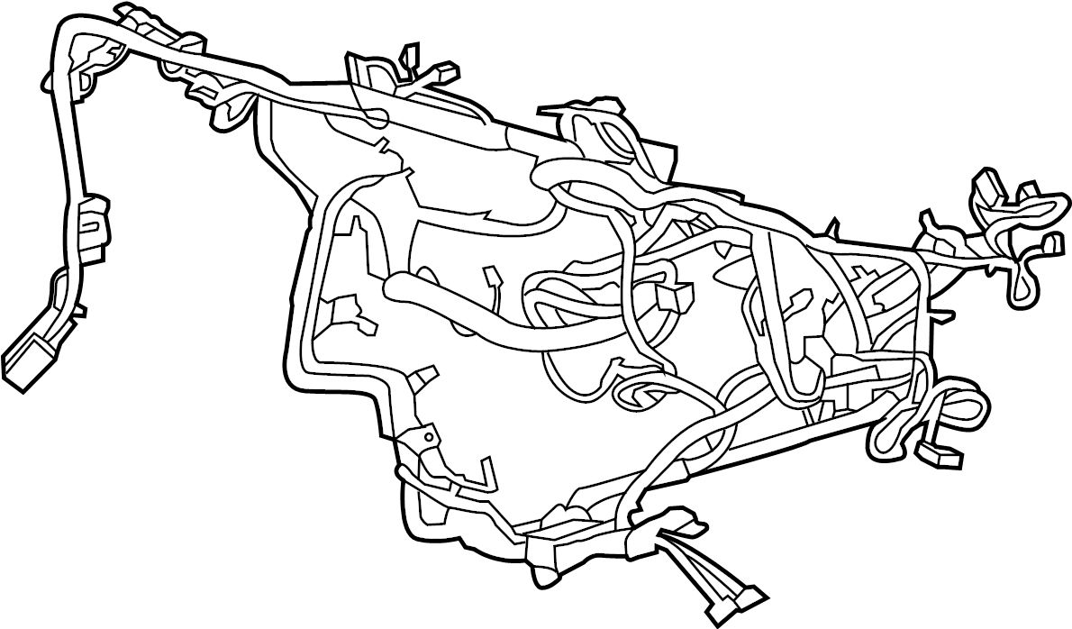 ford fusion instrument panel wiring harness  wire harness