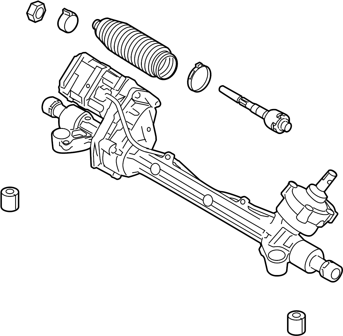 ford fusion gear assembly