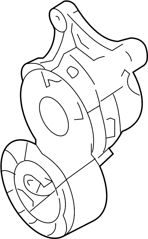 Ford Edge Accessory Drive Belt Tensioner Assembly