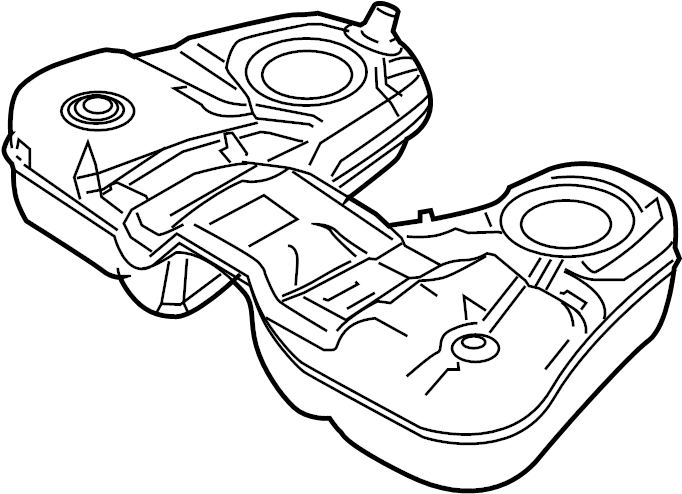 ford explorer fuel tank  tank assembly