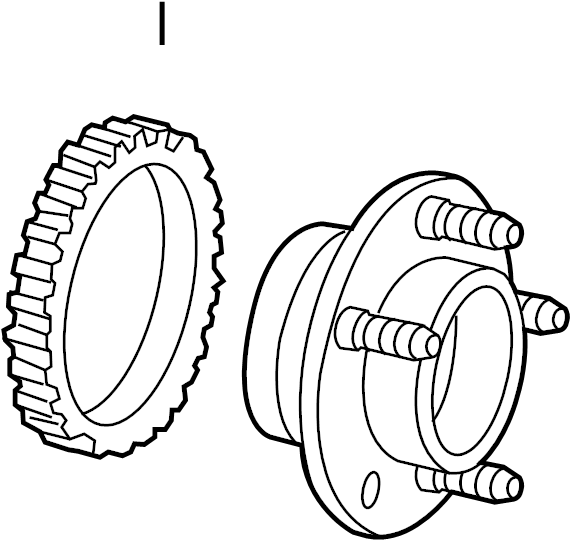 Ford Crown Victoria Wheel Bearing And Hub Assembly  Suspension  Components  Front