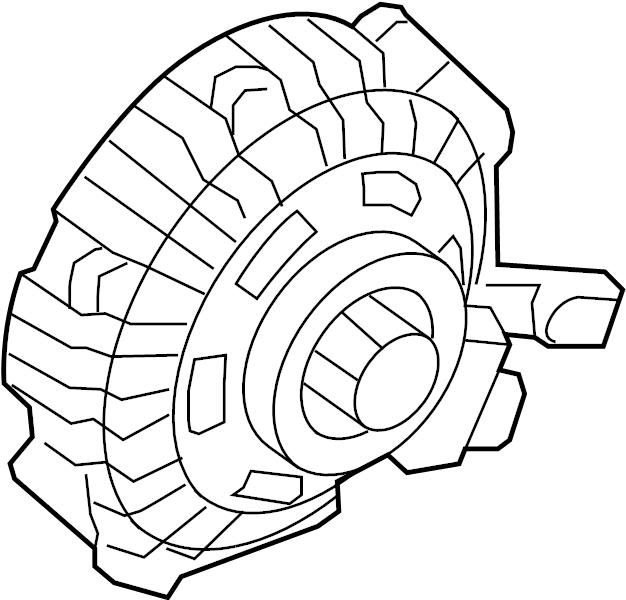 9l3z8a616b - ford clutch assembly
