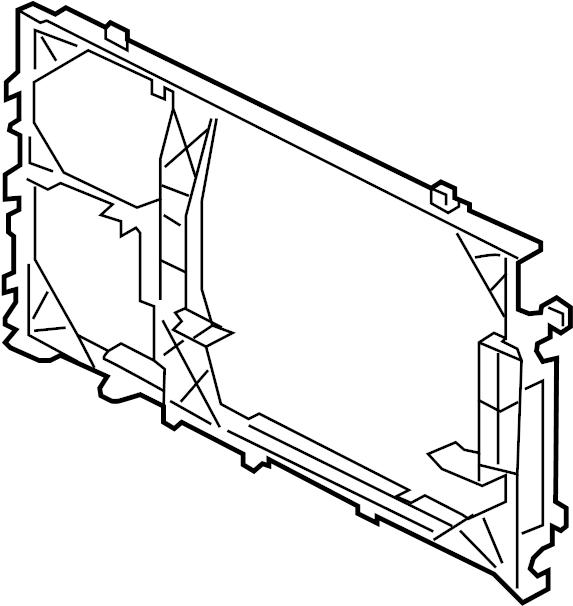al3z19702a  c  condenser mount  carrier  condenser mount bracket