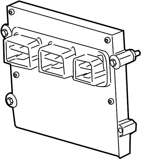 ford f 150 engine control module 5 4 liter  code fmp2