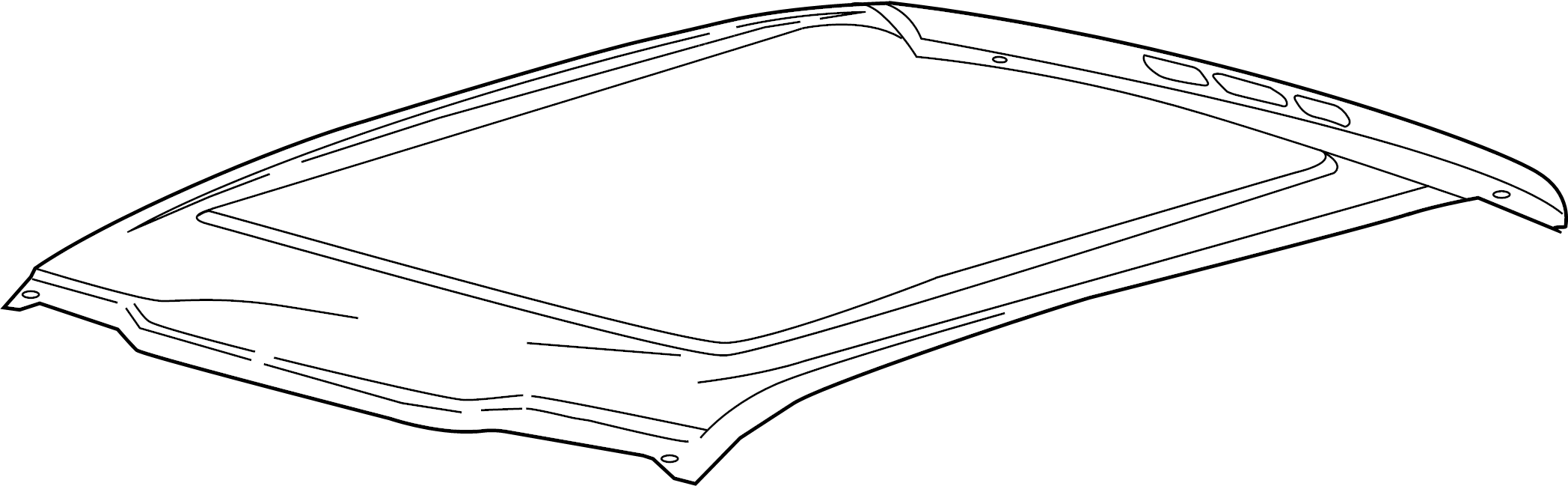 Ford F 150 Panel Assembly Roof Fl3z1650202a Lakeland