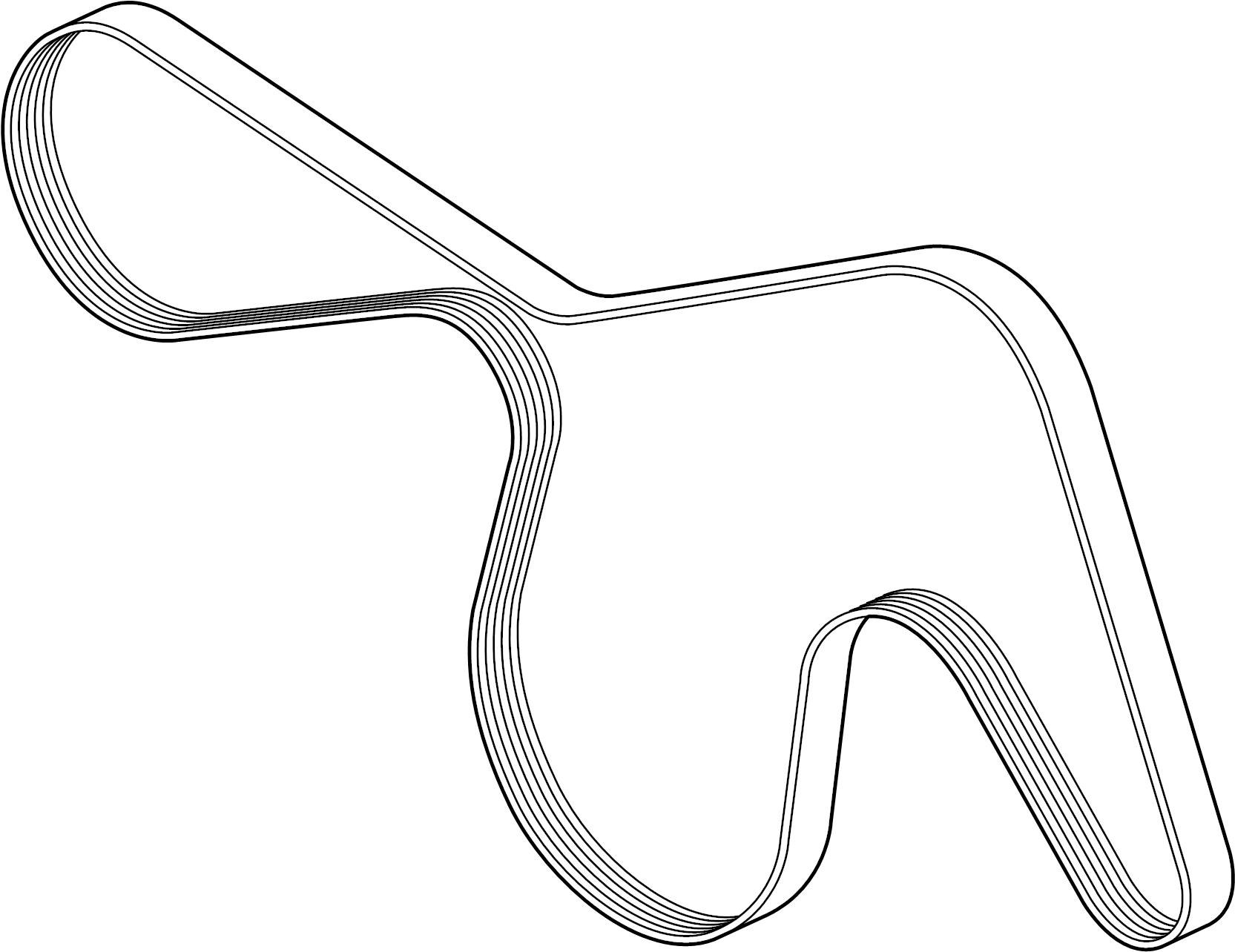 Ford Edge Serpentine Belt  Liter  Drive  Having