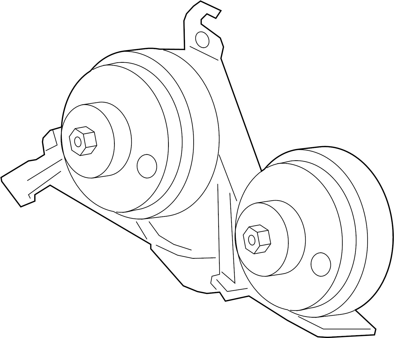 2016 Ford F-150 Horn. Level - FL3Z13832B