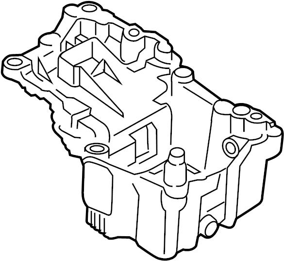 fl3z6675a - ford pan assembly