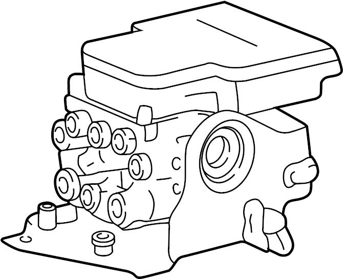 f85z2c219ca  4 wheel abs