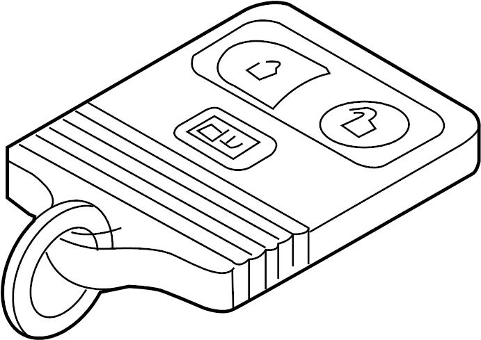2015 ford police interceptor utility keyless entry transmitter