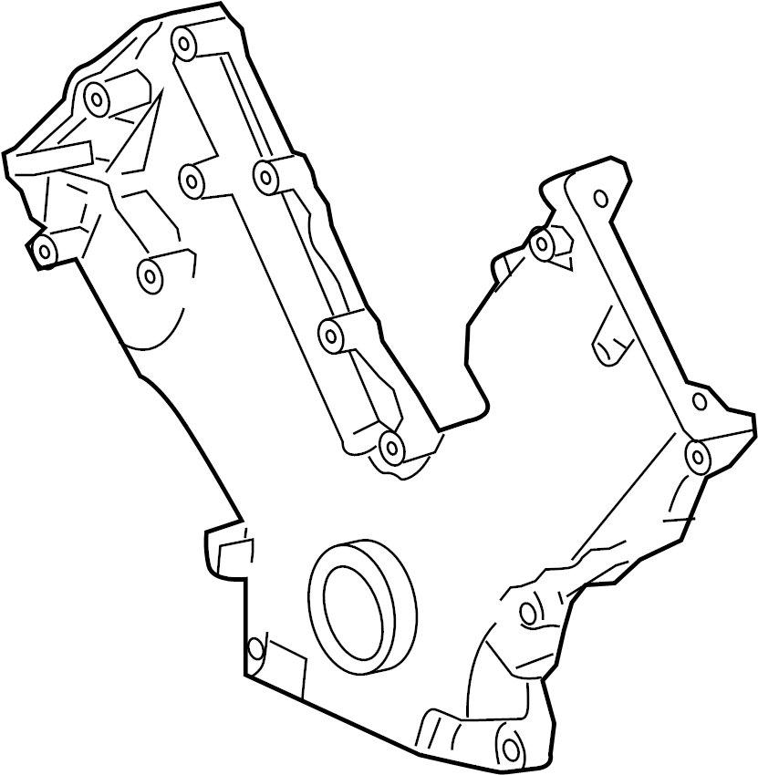 7l3z6019a - ford cover