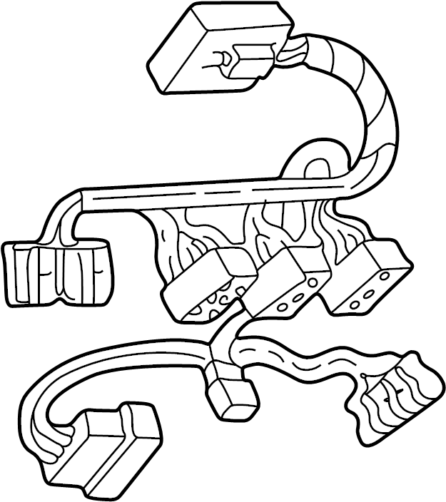 Ford Expedition Wire Harness  Included With  Overhead Console  Overhead Console Order By