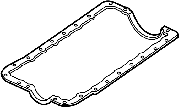 ford explorer gasket  pan  oil  flat  vendor motorcraft