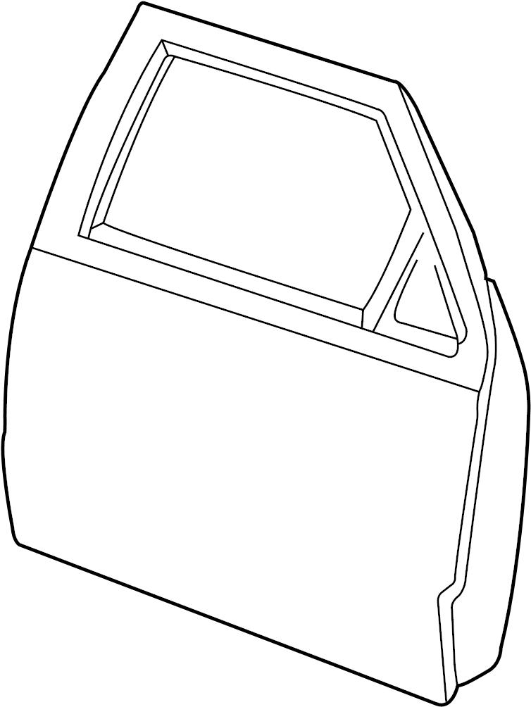 Ford Ranger Door Shell  Front   Door  Shell  Assembly