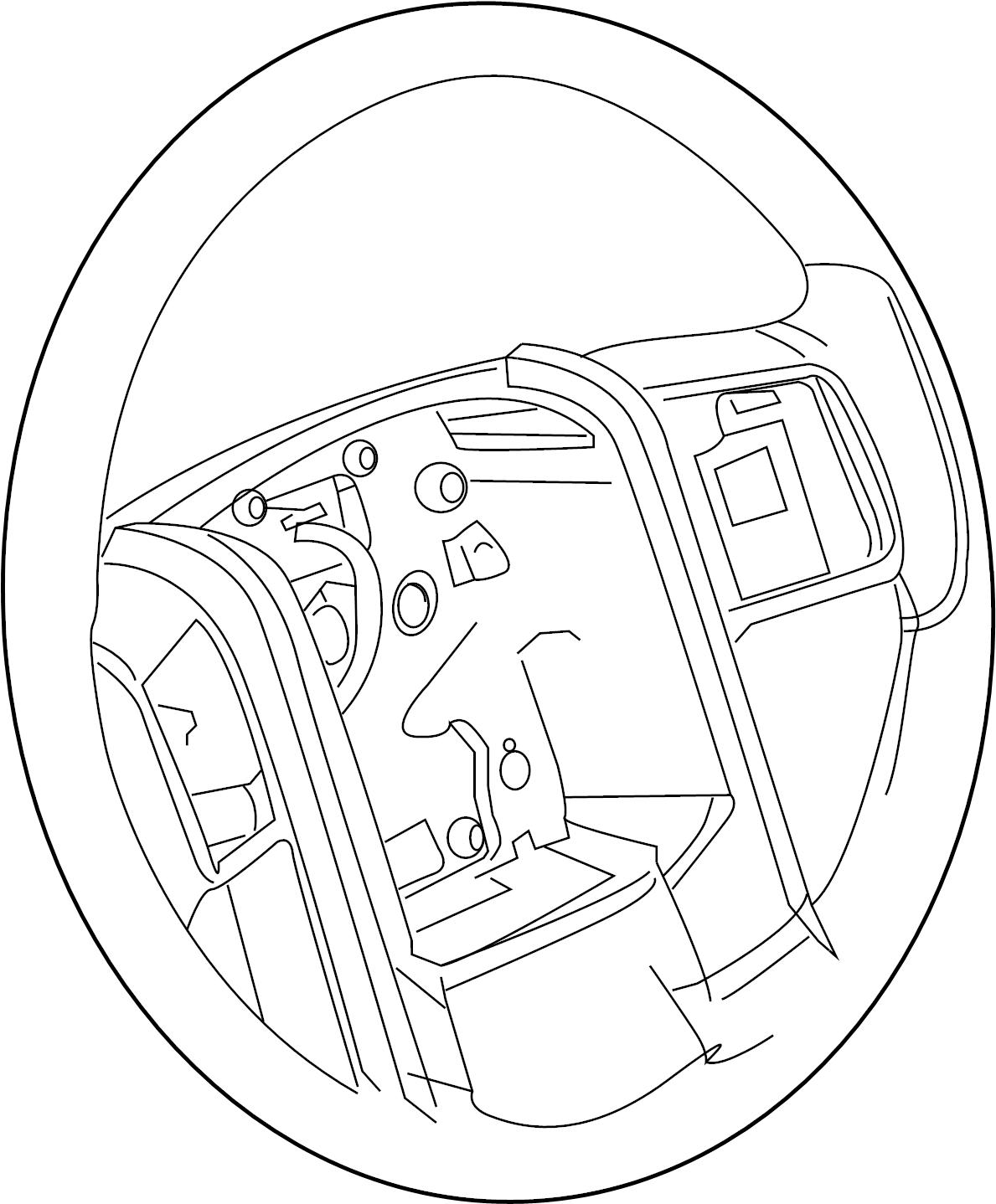 2008 ford f-250 super duty steering wheel