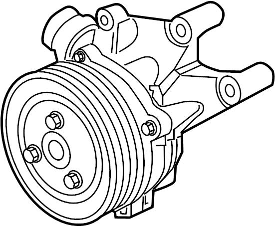 ford f-250 super duty pump asy
