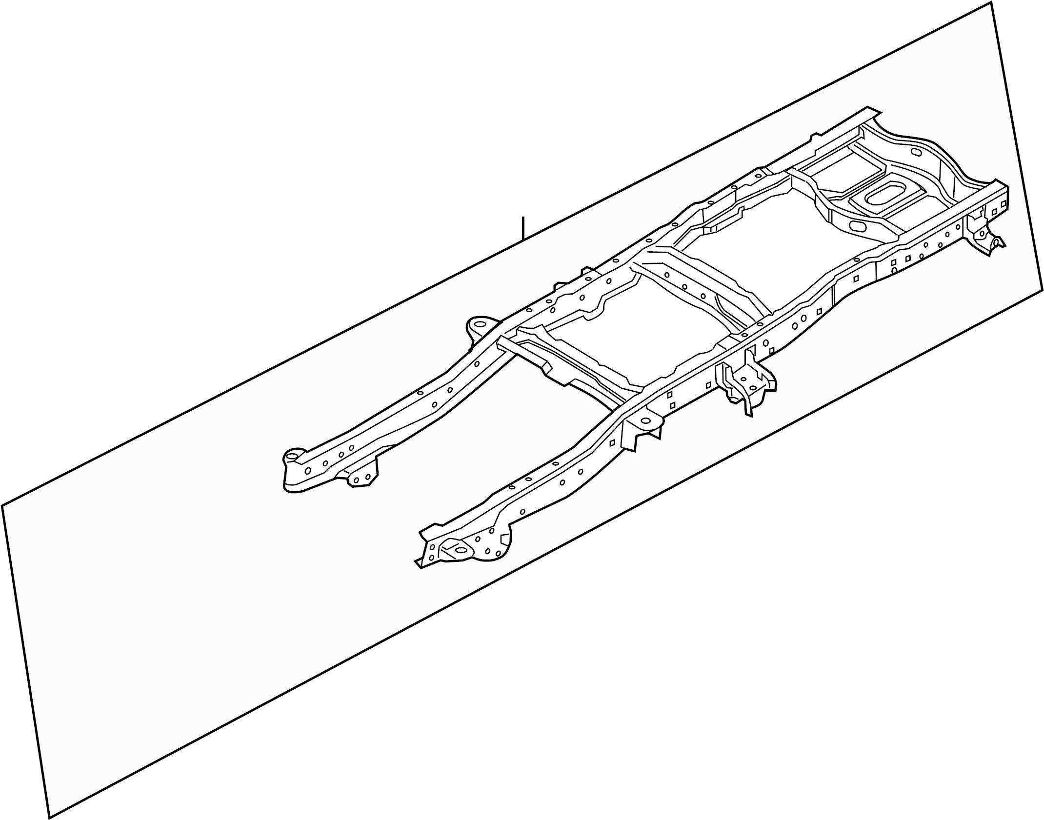 Ford F-250 Super Duty Frame Rail