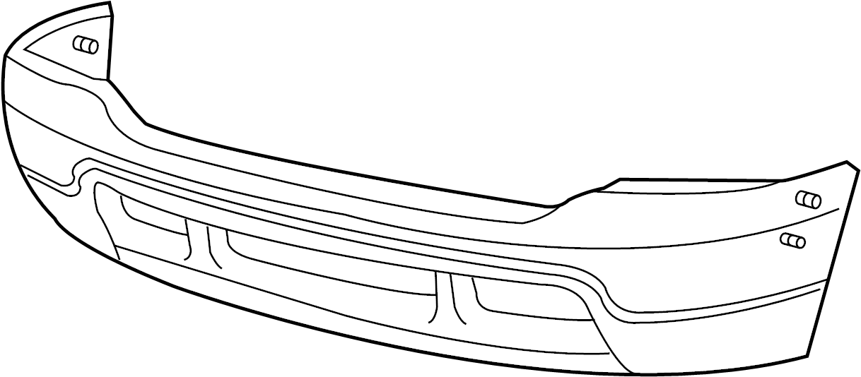 ford f-250 super duty bumper face bar  front   1999-2004  chrome