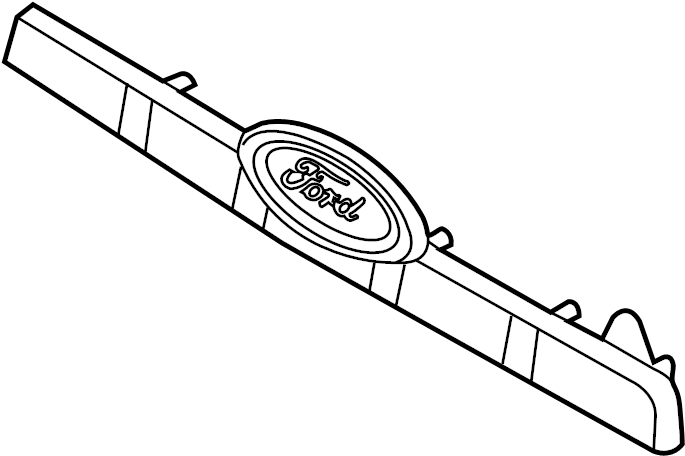 ford explorer lift gate parts diagram