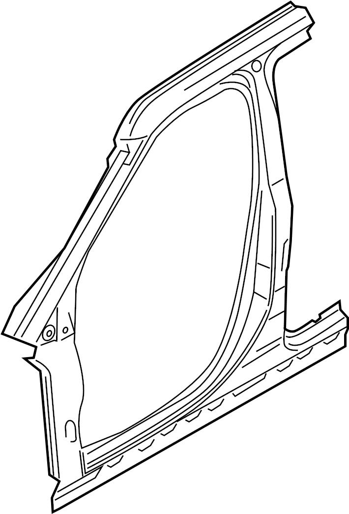 2016 ford explorer aperture panel  frame