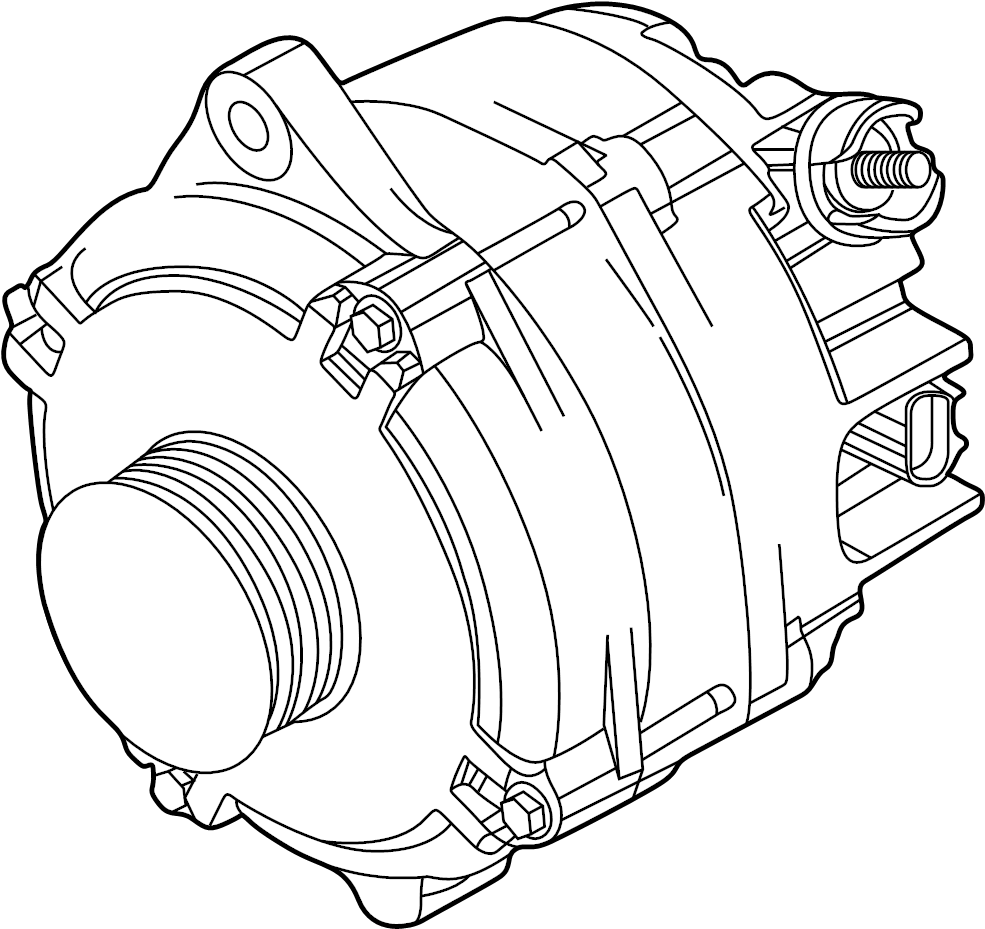 Ford Alternator. Amp, Battery, Interceptor