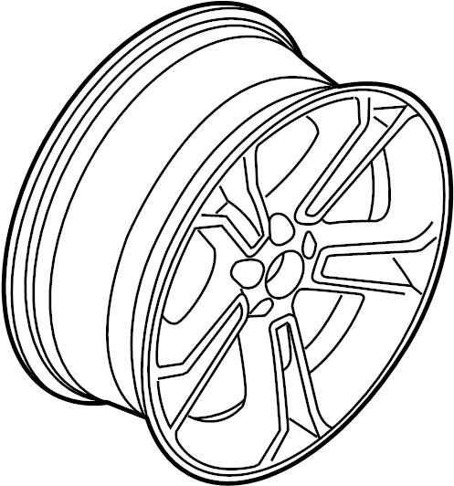 ford explorer wheel assembly  wheel  alloy  20 wheel  5