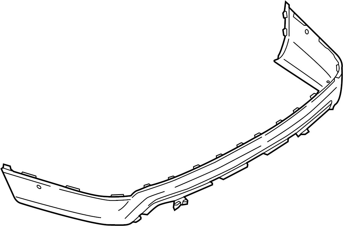 2016 ford explorer bumper assembly