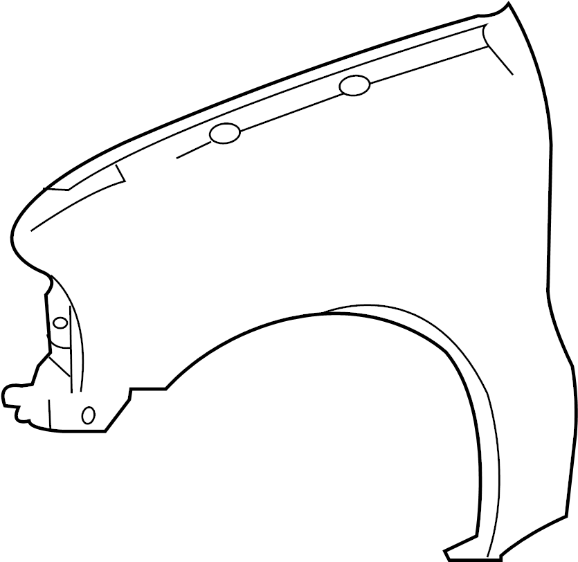 ford f 250 front bumper diagram