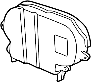 YS4Z6019DA on ford focus motor mounts diagram