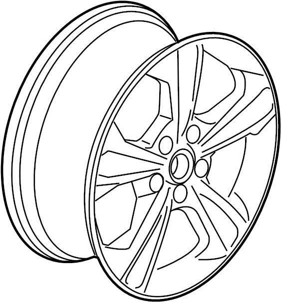 Ford Escape Wheel Inch May Notice Cj5z1007a