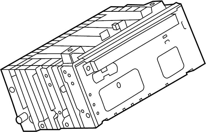 2015 ford escape receiver  sync  radio  wsync