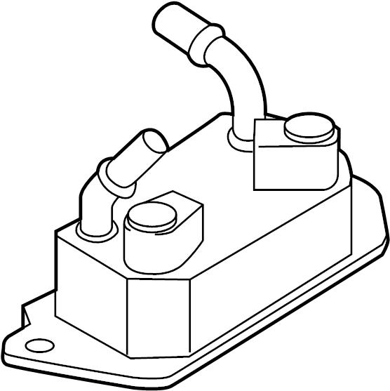 Ford Escape Automatic Transmission Oil Cooler Liter